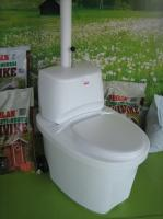 Toilette sèche à séparation d'urine BIOLAN Blanc