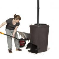rétirer le compost d'une toilette sèche à compost