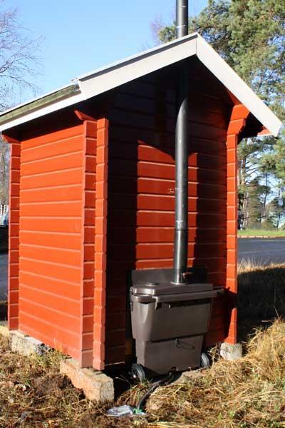 Biolan populett avec sa cabine