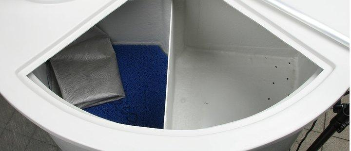 Composteur a quatre compartiment aq42
