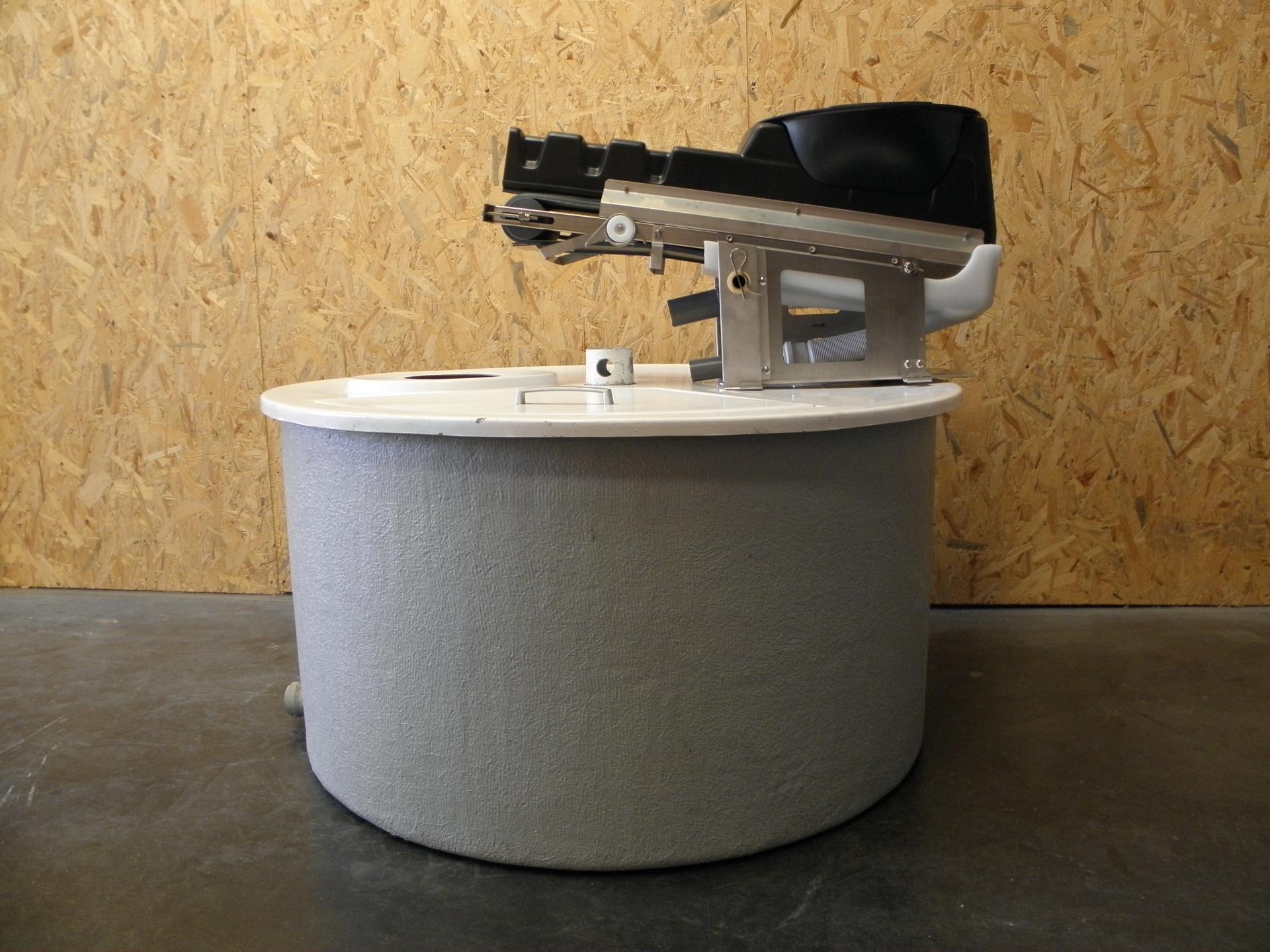 Toilette sèche Ecodomeo zircone et composteur