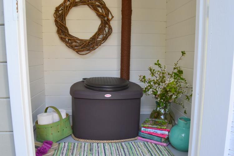 Toilette a compost biolan eco bis