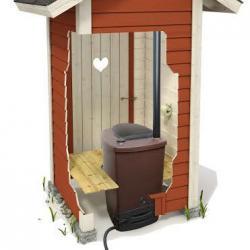 Toilette à compost BIOLAN avec filtre SUOTIS