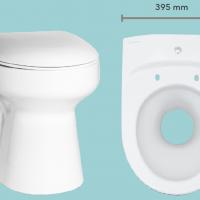 Dimensions de la Toilette sèche Wostman EcoDry B