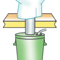 Wostman EcoDry B - Toilette sèche et Bac de collecte