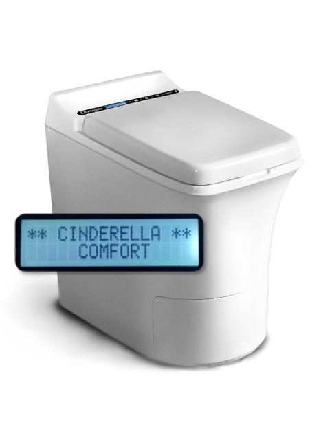 La toilette à incinération Cinderella Comfort