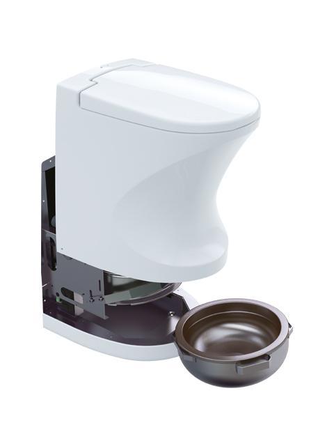 Cinderella motion toilette seche pour caravanes et camping cars 3