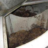 Composteur aq en utilisation