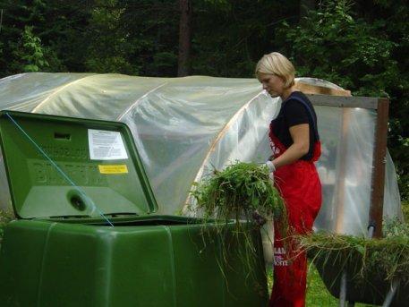 Composteur de jardin biolan 3