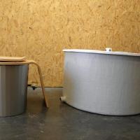 Toilettès écologiques avec composteur Tourniquet