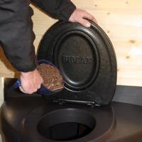 Rajouter de litiere pour toilette seche biolan populett