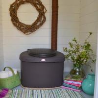 La toilette sèche BIOLAN Eco dans une cabine