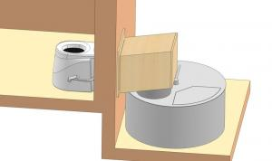 Toilette seche separative ecotourniquet