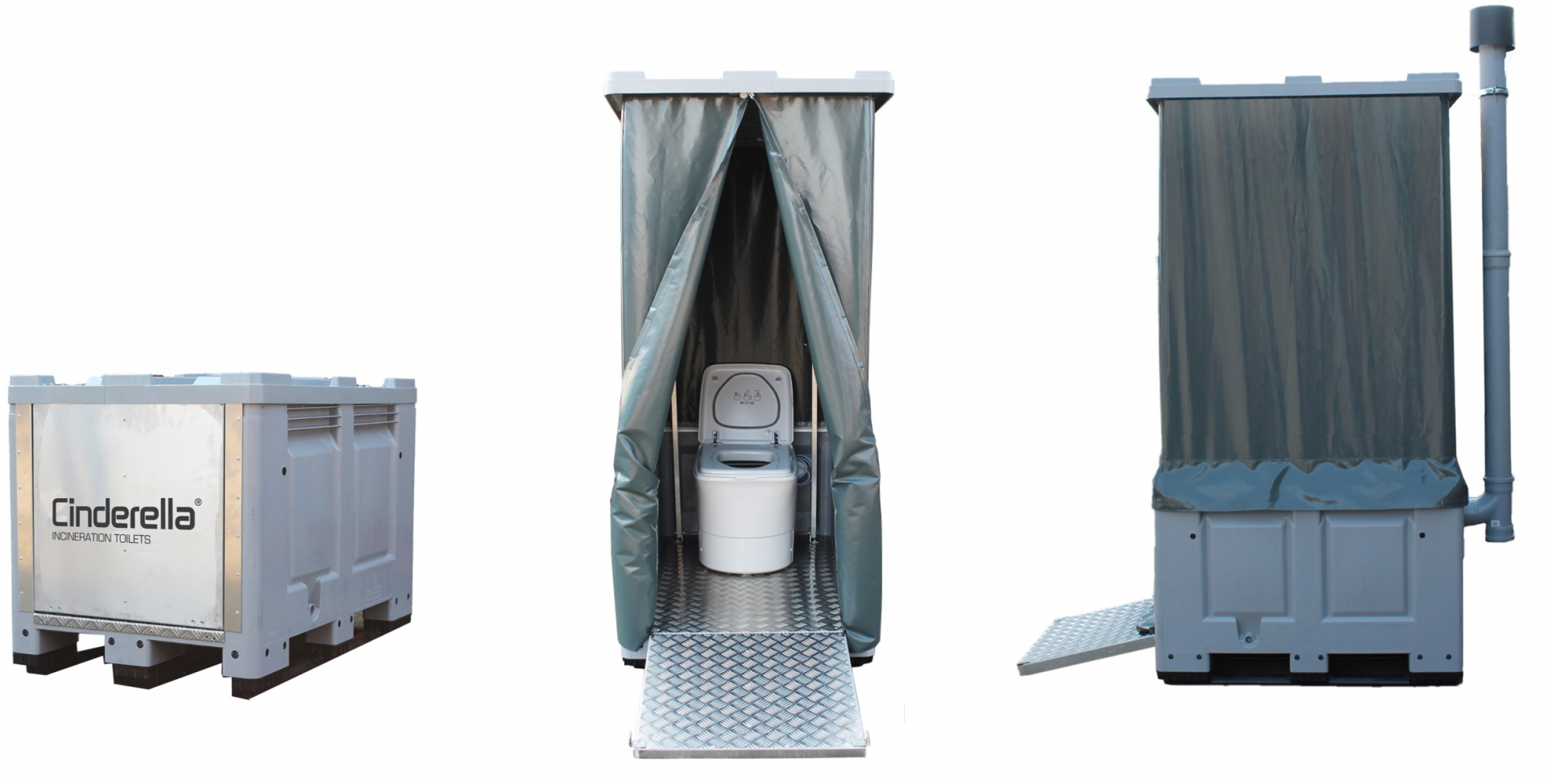 Toilettes seches a incineration cinderella toilettes mobiles